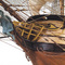détail bateau à assembler H.M.S Surprise 1796 - Kit Artesania Latina