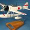 maquette d'avion Nakajima A6M2-N - 38 cm Pilots' Station