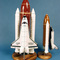 Challenger Space Shuttle & Booster - 38 cm 144.00 € ttc