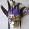 Venetian mask Purple Joker Blue Moon Mask 50.07 € vat incl.