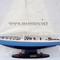 détail maquette de bateau, voilier, runabout Stars & Stripes - 60 cm Gia Nhien
