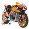 détail miniature de moto Honda RC 212V Pedrosa Minichamps