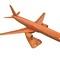 détail maquette d'avion Boeing 757 - 40 cm Replicart-Wood