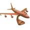détail maquette d'avion Boeing KC 135 - 40 cm Replicart-Wood