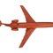 détail maquette d'avion B 727 - 20 cm Replicart-Wood