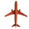 détail maquette d'avion A 320 - 20 cm Replicart-Wood