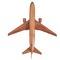 détail maquette d'avion Boeing 767 - 40 cm Replicart-Wood
