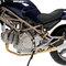 détail miniature de moto Ducati Monster 620-750-900 Bleu Minichamps