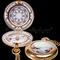 details astrolabe, compass, sextant Enamel Pocket Compass Hémisferium