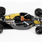 détail miniature de voiture Ferrari 641 2 Carbon Fiber 1990 Noire (GPC97107) Exoto