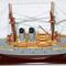 détail maquette de bateau, voilier, runabout Mikasa peint - 100 cm Old Modern Handicrafts