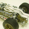 détail miniature de voiture Honda RA273 F1 66 GP Italie R GINTHER Ebbro