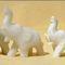 Lot de 4 éléphants en marbre 58.19 € ttc