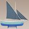 maquette de bateau, voilier, runabout Authentic Models -AM- Bateau de Pêche du Golfe, Bleu 55.20 € ttc