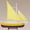 maquette de bateau, voilier, runabout Authentic Models -AM- Bateau de Pêche du Golfe, Jaune 55.20 € ttc