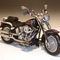 miniature de moto Harley Davidson H-D FLSTF Fat Boy  Unrest  Color Shop 81151 Highway 61 95.00 € ttc