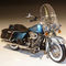 miniature de moto Harley Davidson H-D FLHRC Road King Classic Cool Blue Chrome Fender  Color Shop 81174 Highway 61 95.00 € ttc