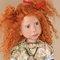 détail poupée de collection Annick - 65 cm Nicole Marschollek-Menzner