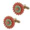 Flower cufflinks 59.00 € vat incl.