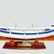 maquette de bateau, voilier, runabout bateau de pêche Le Pointu bleu et blanc - 50 cm Mistral-production 150.00 € ttc