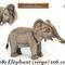 Eléphant (siège) - 106 cm 545.00 € ttc