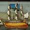 maquette de bateau, voilier, runabout voilier historique Victory - 80 cm Mistral-production 489.60 € ttc