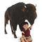Bison géant  170 cm - 5154 1598.40 € ttc