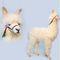 Lama Alpaga blanc  165 cm - 6444 970.00 € ttc