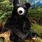 Petit ours noir 38 cm 126.00 € ttc