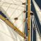 détail maquette de bateau, voilier, runabout Columbia  - 114 cm Authentic Models -AM-