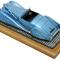détail miniature de voiture Delahaye 135 Narval Bleue Heco Miniatures