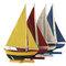 Flotille de 4 voiliers 105.60 € ttc