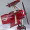 détail maquette d'avion Fokker Triplan rouge - 47 cm Authentic Models -AM-