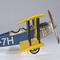 détail maquette d'avion Curtiss Jenny détaillé - 80 cm Authentic Models -AM-