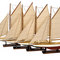 ship, sailboat, runabout model large sailing ship Small sailing ship Authentic Models -AM- 155.00 € vat incl.