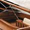 détail maquette de bateau, voilier, runabout Sandbagger Hyannis - 121 cm Authentic Models -AM-
