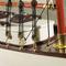 détail maquette de bateau, voilier, runabout Yacht classique 1930 - 90 cm Authentic Models -AM-