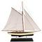 Yacht classique 1930 bleu - 90 cm 142.80 € ttc