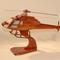 détail maquette d'helicoptère Eurocopter AS 355F - 45 cm La Collection d'Avions