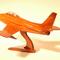 détail maquette d'avion North American F86 Sabre La Collection d'Avions