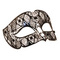 Venetian mask luxury Smoking Blue Moon Mask 95.00 &euro; vat incl.