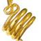 Bague Serpent grecque - Plaqué or, T52 70.00 € ttc