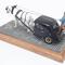 détail miniature de voiture Citroen Traction ... 1944 Heco Miniatures