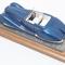 détail miniature de voiture Delage D8-120 Figoni et Falaschi Heco Miniatures