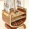 détail maquette de bateau, voilier, runabout Cutty Sark Coupe Historic Marine