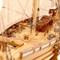 détail maquette de bateau, voilier, runabout Coureur Historic Marine