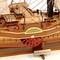 détail maquette de bateau, voilier, runabout Orénoque Historic Marine