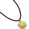 Sun pendant with cord - gilded pewter 9.50 € vat incl.