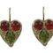 Heart earrings 50.00 € vat incl.