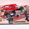détail miniature de voiture Ferrari 126 CK F.1 GP Monaco 81 Pironi (KIT au 1/12e) MG Model Plus